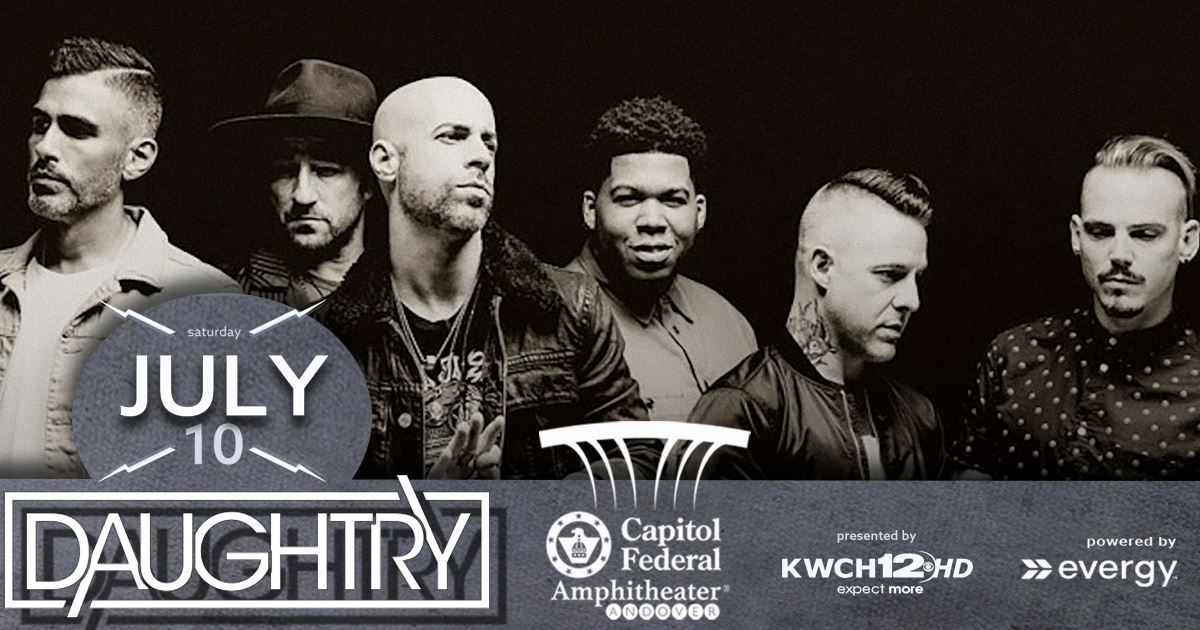 Daughtry - July 10 2021 at capfedamphitheater