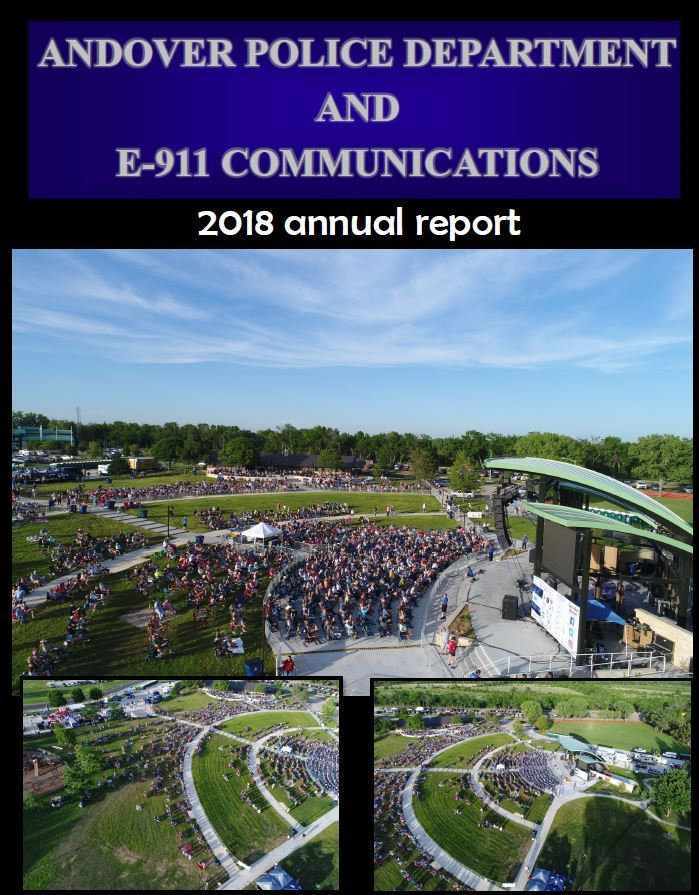 2018 PD Annual Report Cover