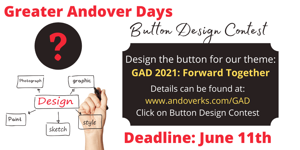 GAD Button Design contest 2021 Opens in new window